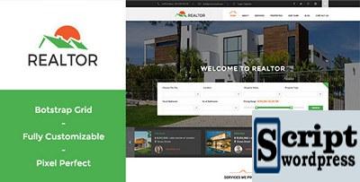 Tema de WordPress Responsivo Imobiliário
