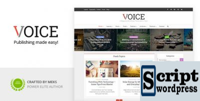 voice-wordpress-template