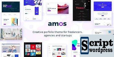Amos v1.1 - Tema WordPress Criativo para Agências e Freelancers