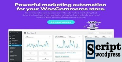 AutomateWoo v4.4.3 - Marketing Automation For WooCommerce Store -