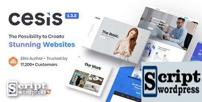 Cesis v1.3.2 - Tema WordPress Multifuncional Responsivo