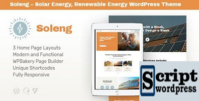 ThemeForest - Soleng v1.0.1 - A Solar Energy Company WordPress Theme - 21621910