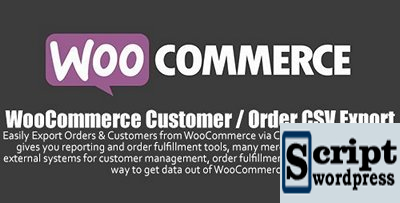 WooCommerce - Customer Order CSV Export v4.6.2