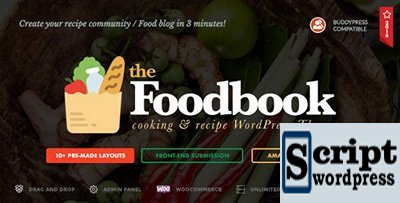 Foodbook - Template Para Restaurante, blog