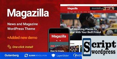Magazilla v1.0.3 - Tema Wordpress Notícias e revistas
