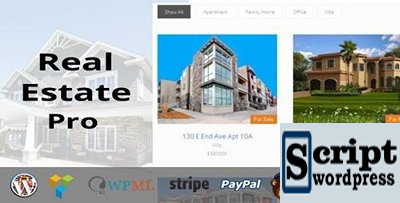 Real Estate Pro v1.4.2 - WordPress Plugin