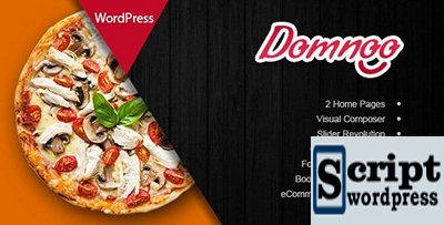 Tema de WordPress de restaurante de pizza