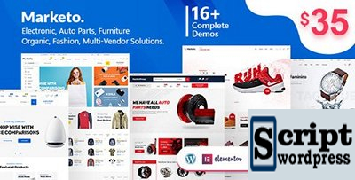 Template Wordpress Marketplace Woocommerce WordPress