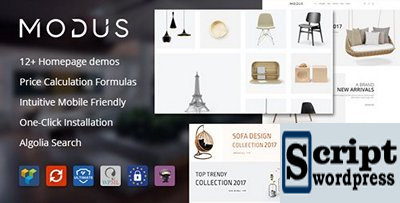 ThemeForest - Modus v1.4.4 - Modern Furniture WooCommerce Theme - 21278889