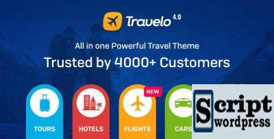 Travelo v4.0 - WordPress Hotel / Tour Template de reserva