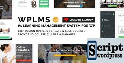 WPLMS v3.9 - Template Wordpress Para Sistema de Gestão Educação