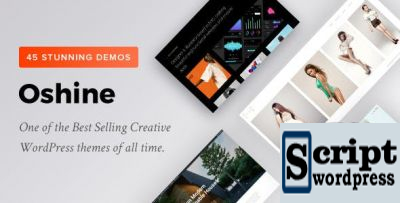 Oshine - Tema Criativo Wordpress Multifuncional