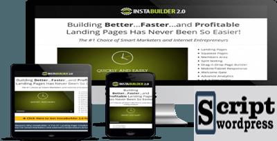 InstaBuilder v2.1.10 - Criando Landing Page/subscrição para o WordPress