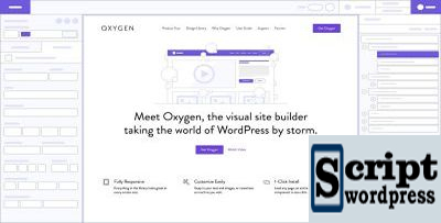 Oxygen v2.3 - Editor de Página Visual do WordPress