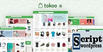 ThemeForest - Tokoo v1.1.1 - Tema WooCommerce loja de eletrônicos para afiliados, Dropship e sites multi-vendor - 22359036