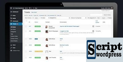 Plugin WordPress para suporte ao cliente