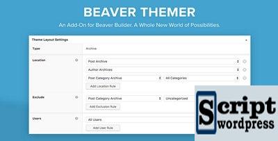 Beaver Themer - addon para o Beaver Builder