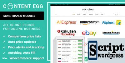 Content Egg - plugin wordpress para afiliados, comparação de preços, sites de ofertas