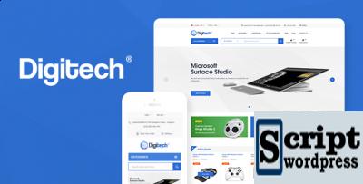 Digitech - Tema de Tecnologia para WordPress WooCommerce