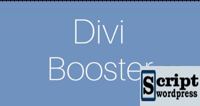 Divi Booster v2.9.3 - melhorias para o modelo Divi WordPress