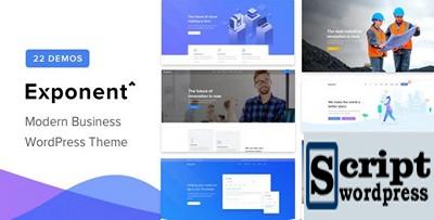 Expoente - tema de WordPress de negócios multiuso moderno