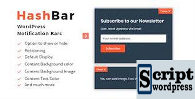 HashBar-Pro-WordPress-Notification-Bar