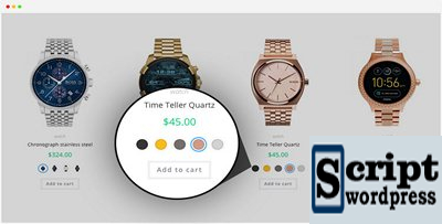 Plugin WooCommerce Variation Swatches Pro