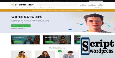 Shoptimizer - Tema Wordpress Mais Rapido WooCommerce