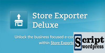Store Exporter Deluxe - Exportação de Dados WooCommerce