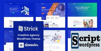 Strick - Tema de WordPress de agência criativa