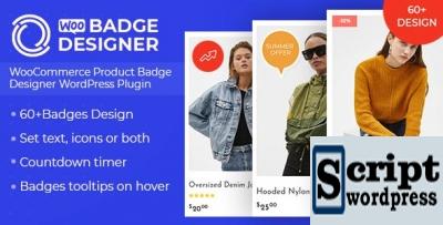 Woo Badge Designer - Plugin WordPres Emblemas para produtos WooCommerce .