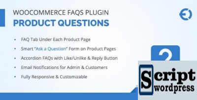 WooCommerce FAQ - Plugin Wordpress de Perguntas Frequentes WooCommerce