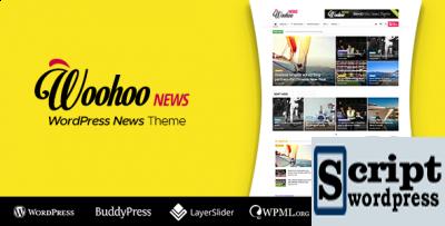 Woohoo - Tema Wordpress para sites de notícias