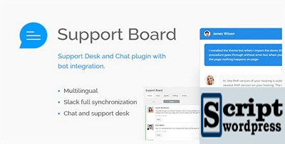 Support Board - Chat And Help Desk | AI Support & Chat