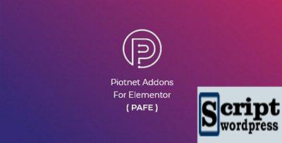Piotnet Addons Para Elementor Pro