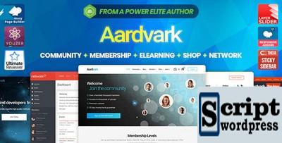 Aardvark - Tema Wordpress Comunidade, Associação, BuddyPress
