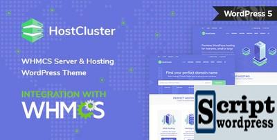HostCluster - Tema WHMCS para servidor e hospedagem WordPress + RTL