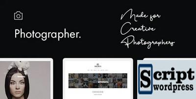 Photographer - Tema Wordpress Para Fotografia