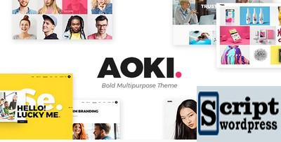 Aoki - Tema Wordpress Agência de Design Criativo