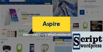Aspire - Tema WooCommerce responsivo multiuso para WordPress