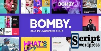 Bomby - Tema WordPress WordPress de múltiplos propósitos