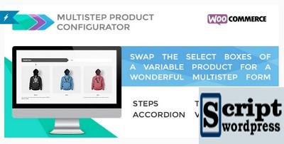 Troque as caixas de seleção de um produto variável por um maravilhoso formulário de várias etapas.