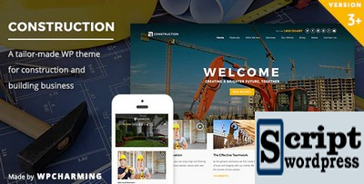 Construction - Template Profissional Para Empresa