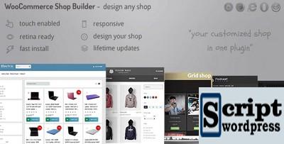 Criador de páginas de loja WooCommerce - Crie qualquer grade / tabela de loja com filtros avançados
