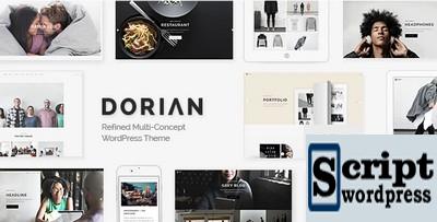 Dorian - Tema WordPress WordPress de vários conceitos refinados