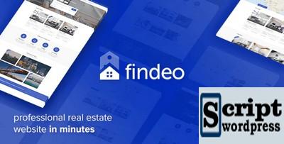 Findeo - Tema WordPress de imóveis