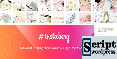 Instaberg - Galeria de feeds do Instagram - Gutenberg Block