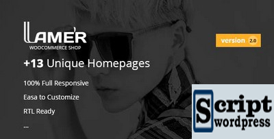 Lamer Fashion - Tema WooCommerce para WordPress