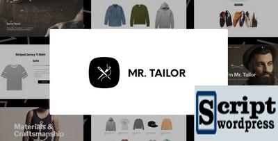 Mr. Tailor - Tema da loja online de moda e roupas para WooCommerce