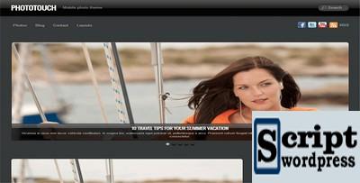 PhotoTouch - Template Wordpress Para Fotografia
